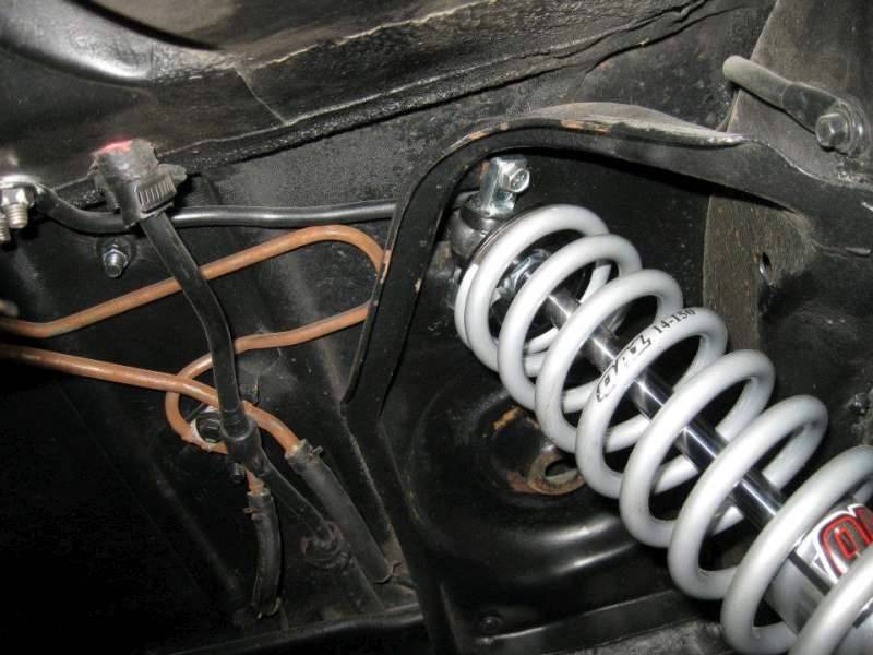 Details about Rear Coil Over Kit | QA1 18 Way Single Adjustable Shocks &  150# Springs