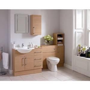 New Argos Hygena 3 Drawer Floor Standing Bathroom Unit