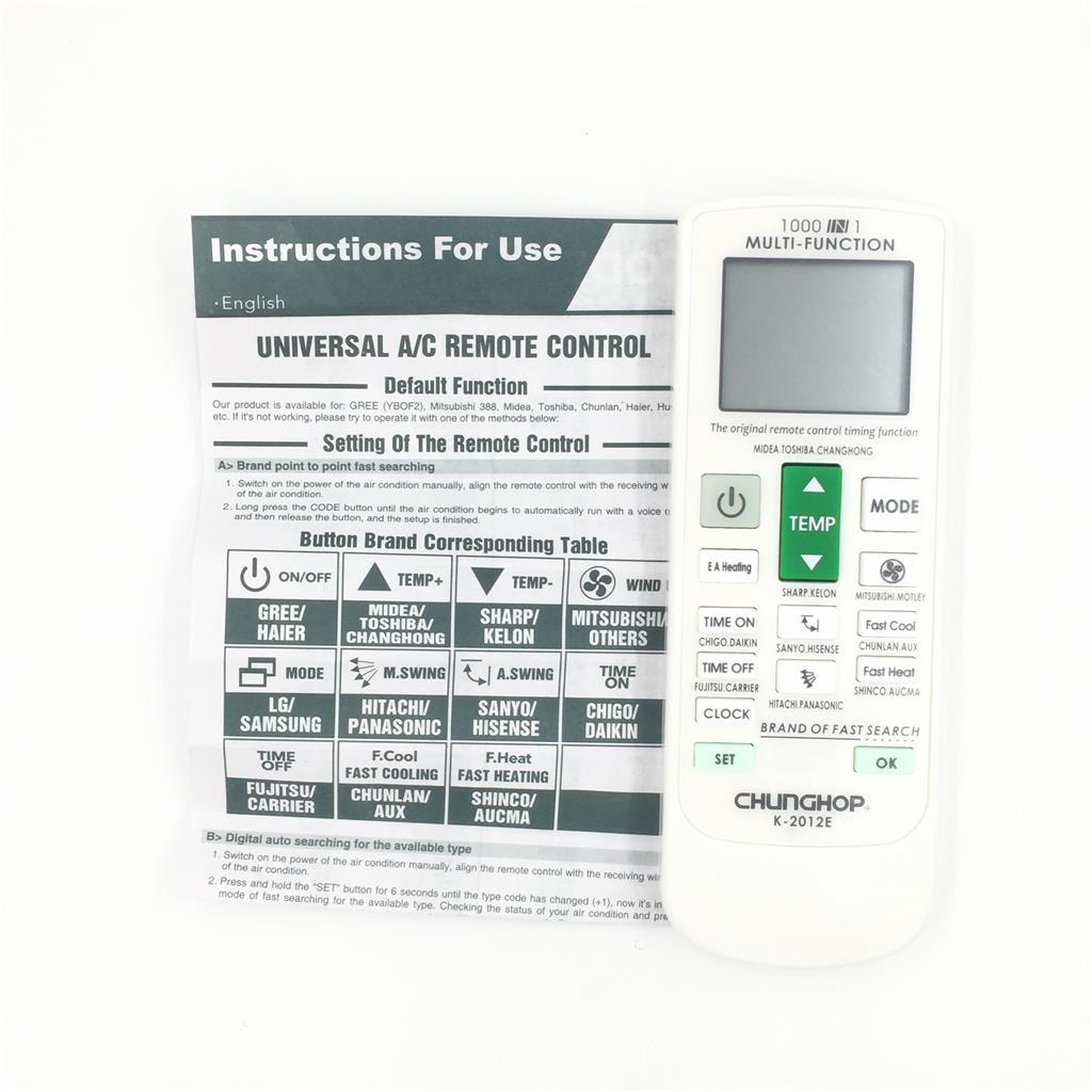 Universal A C Remote Air Conditioner Control Ac Remote