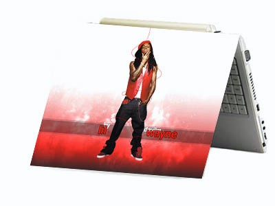 Lil Wayne Rapper Laptop Netbook Skin Decal Cover Stickr