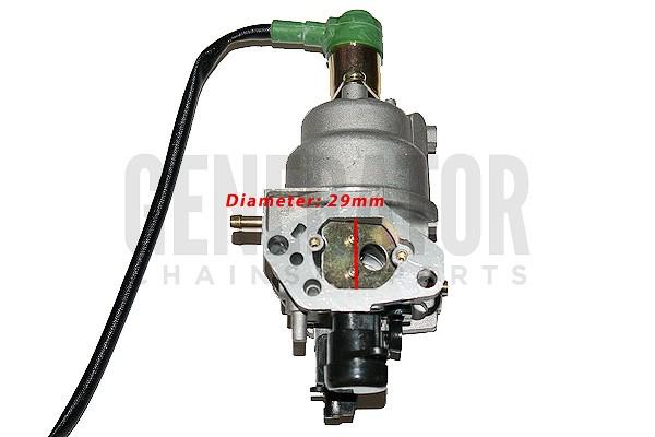 Honda GX420 Generator Lawn Mower Engine Motor Carburetor Carb Solenoid Parts
