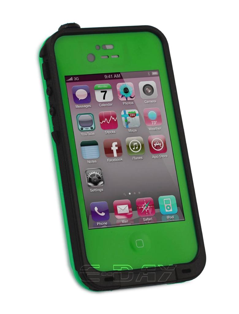 waterproof iphone 4s case new waterproof shockproof dirtproof for iphone 4 4s 1985