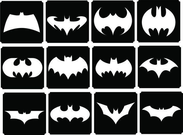 12 Batman Stencils Top Up Glitter Tattoo Kit Face Painting Airbrush