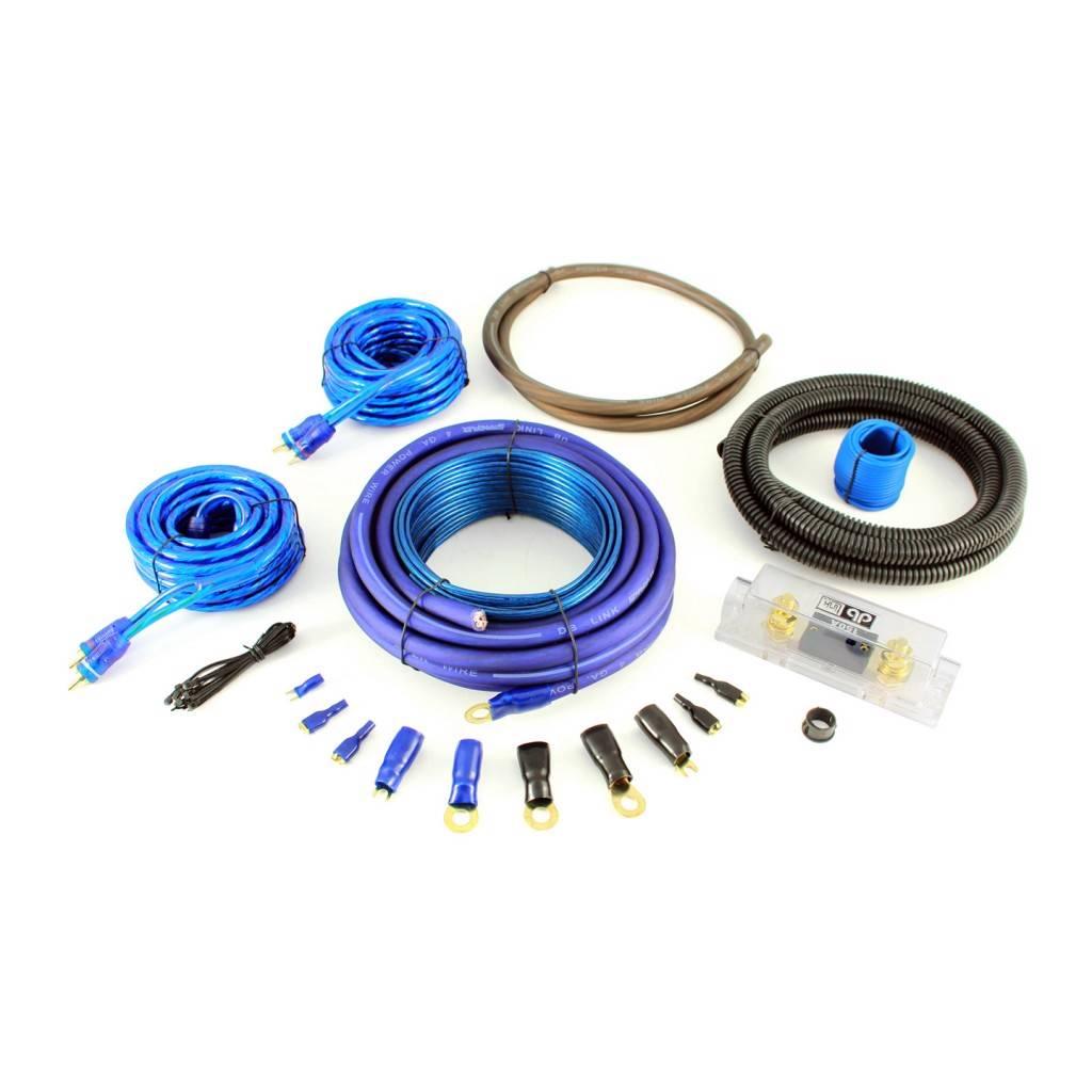 Db Link Pk4z 4 Gauge Power Series Amp Installation Kit: DB Link CK4Z2RCA 4 Gauge RCA Amplifier Wiring Harness Kit