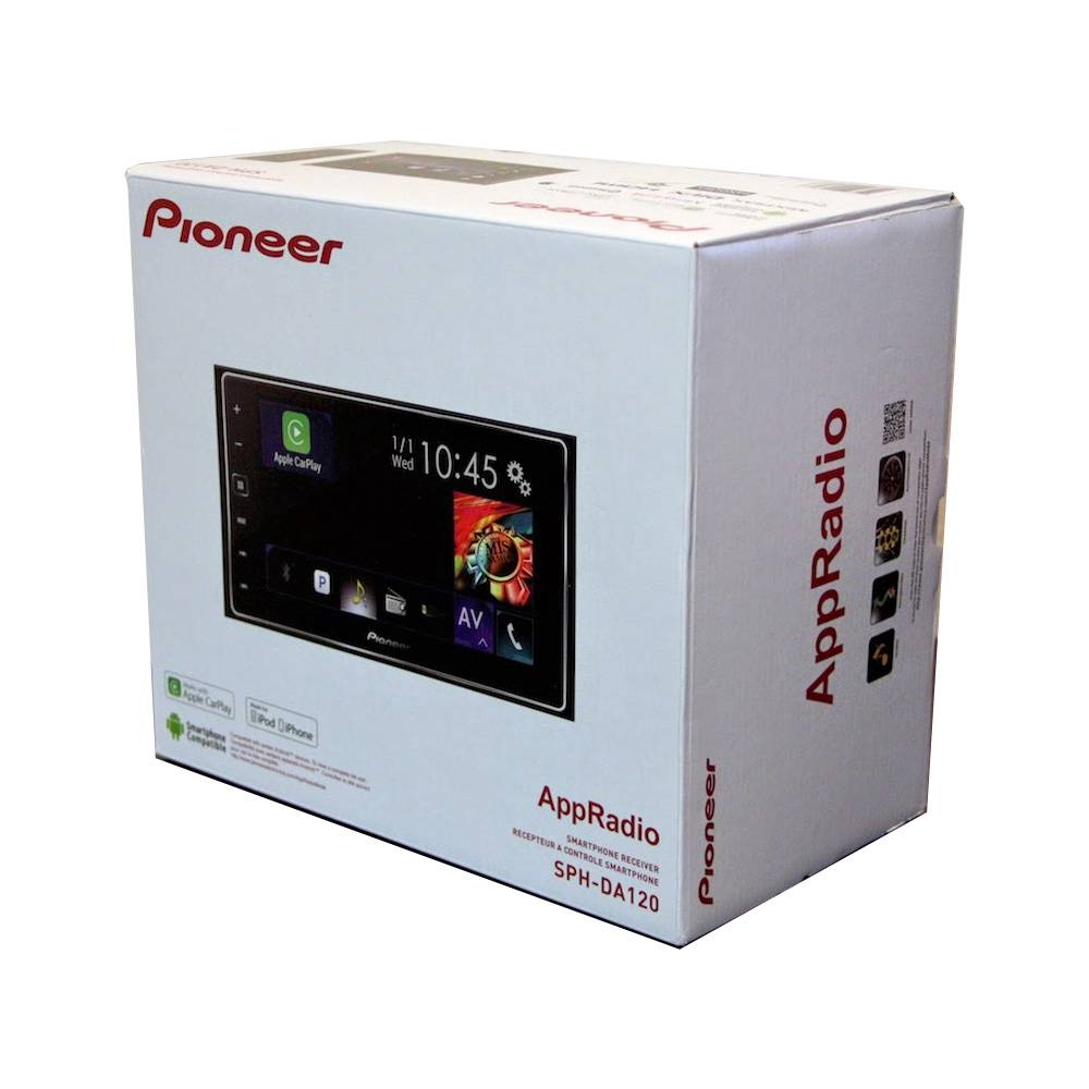 pioneer sph da120 2 din 6 2 bluetooth usb mirrorlink smartphone ebay. Black Bedroom Furniture Sets. Home Design Ideas