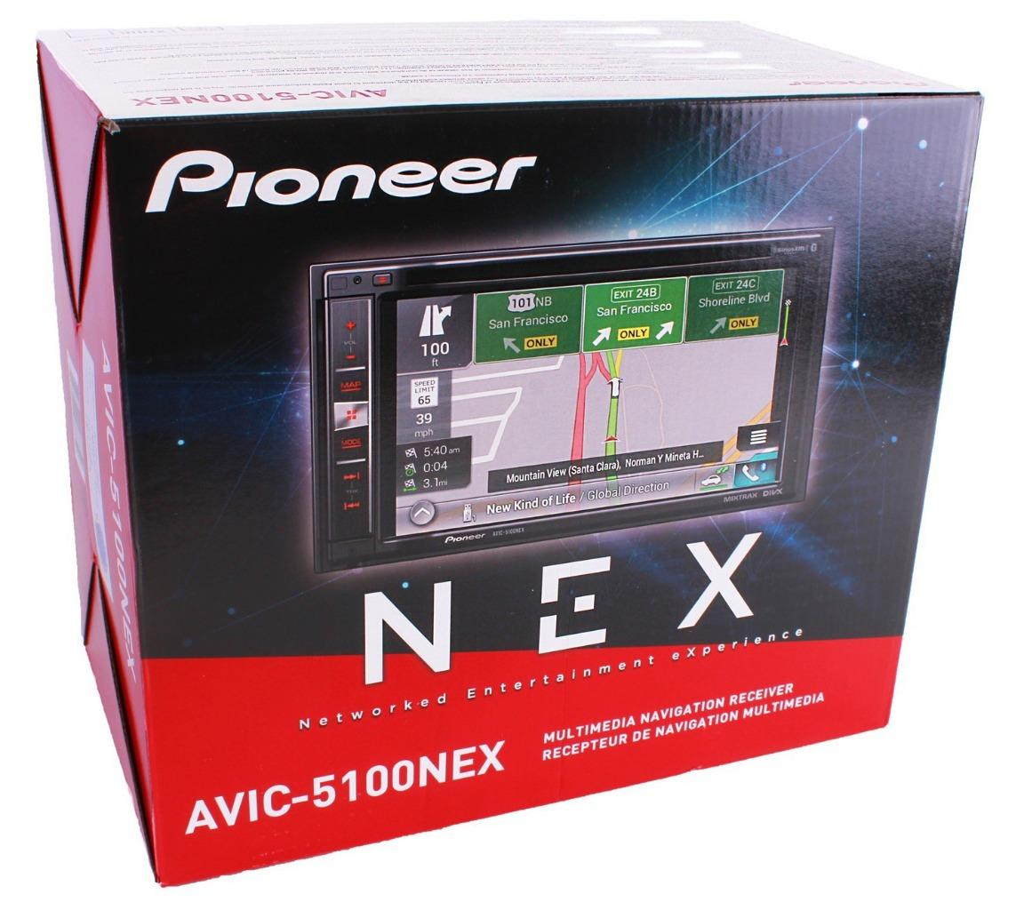 pioneer avic 5100nex 2 din dvd receiver 6 2 touchscreen. Black Bedroom Furniture Sets. Home Design Ideas