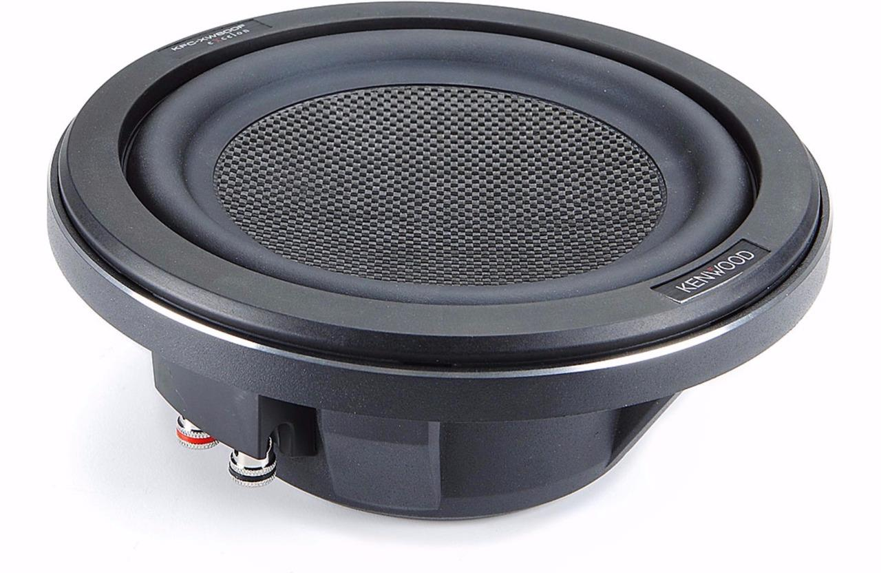 "Kenwood 10"" 1300W Subwoofer + Q Power Truck Enclosure ... 