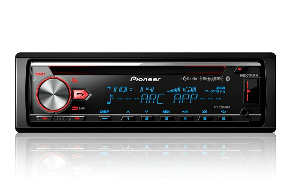 pioneer deh x7800bhs 1 din car stereo in dash bluetooth cd. Black Bedroom Furniture Sets. Home Design Ideas