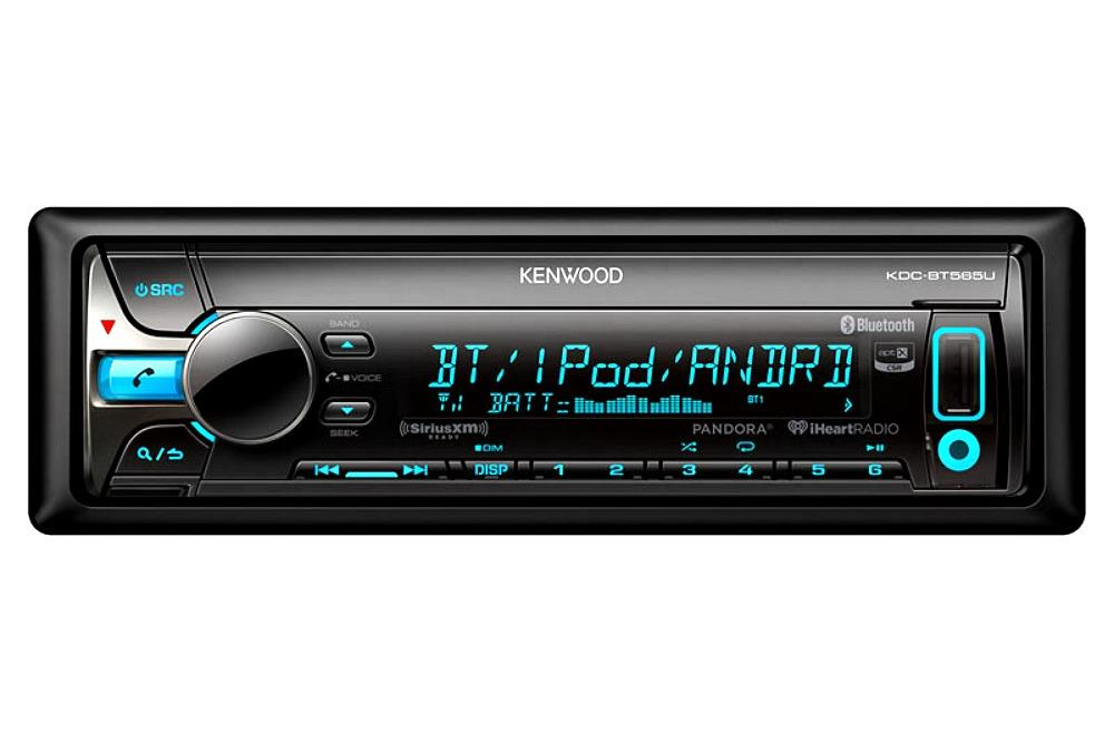 Car Stereo Bluetooth: Kenwood KDC-BT565U 1-DIN Car Stereo In-Dash CD Receiver