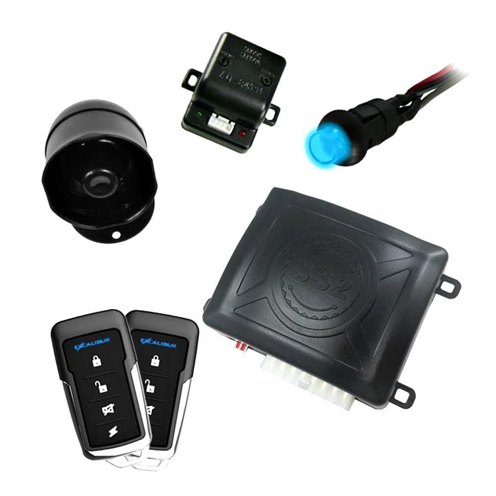 excalibur al 560 1 way paging keyless entry car alarm. Black Bedroom Furniture Sets. Home Design Ideas