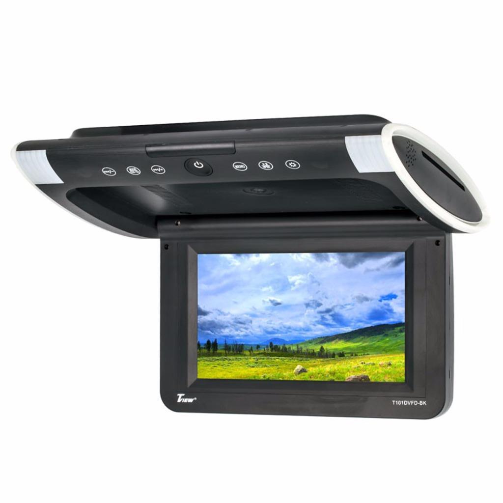 Tview T101dvfd 10 1 Quot Car Video Overhead Flip Down Monitor
