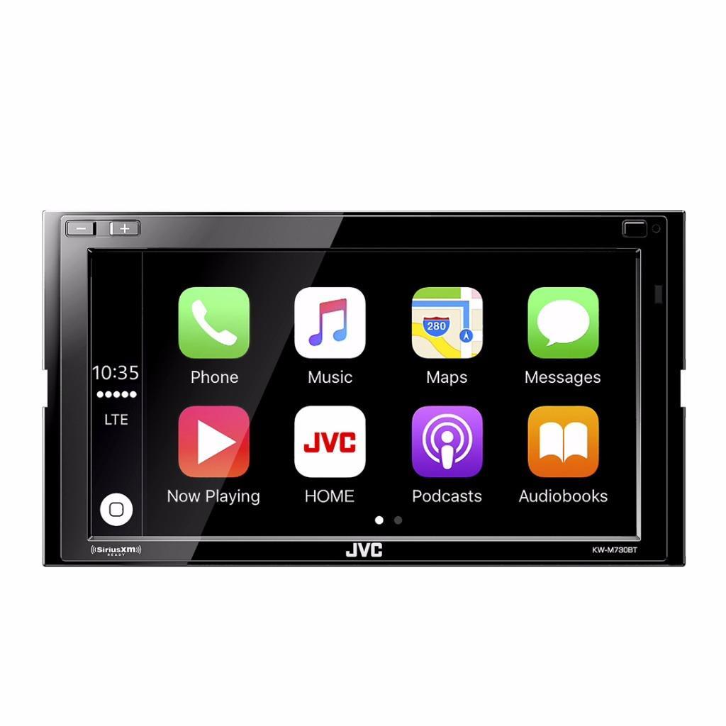jvc kw m730bt 2 din car stereo in dash digital multimedia receiver w bluetooth ebay. Black Bedroom Furniture Sets. Home Design Ideas