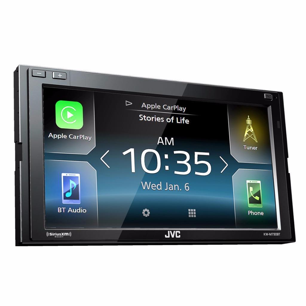 JVC KW-M730BT 2-DIN Car Stereo In-Dash Digital Multimedia