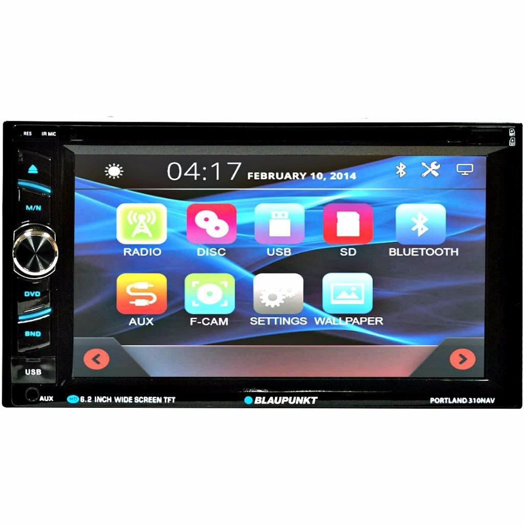 Blaupunkt PORTLAND 310NAV 2-DIN DVD Bluetooth NAV Receiver ...  Blaupunkt PORTL...