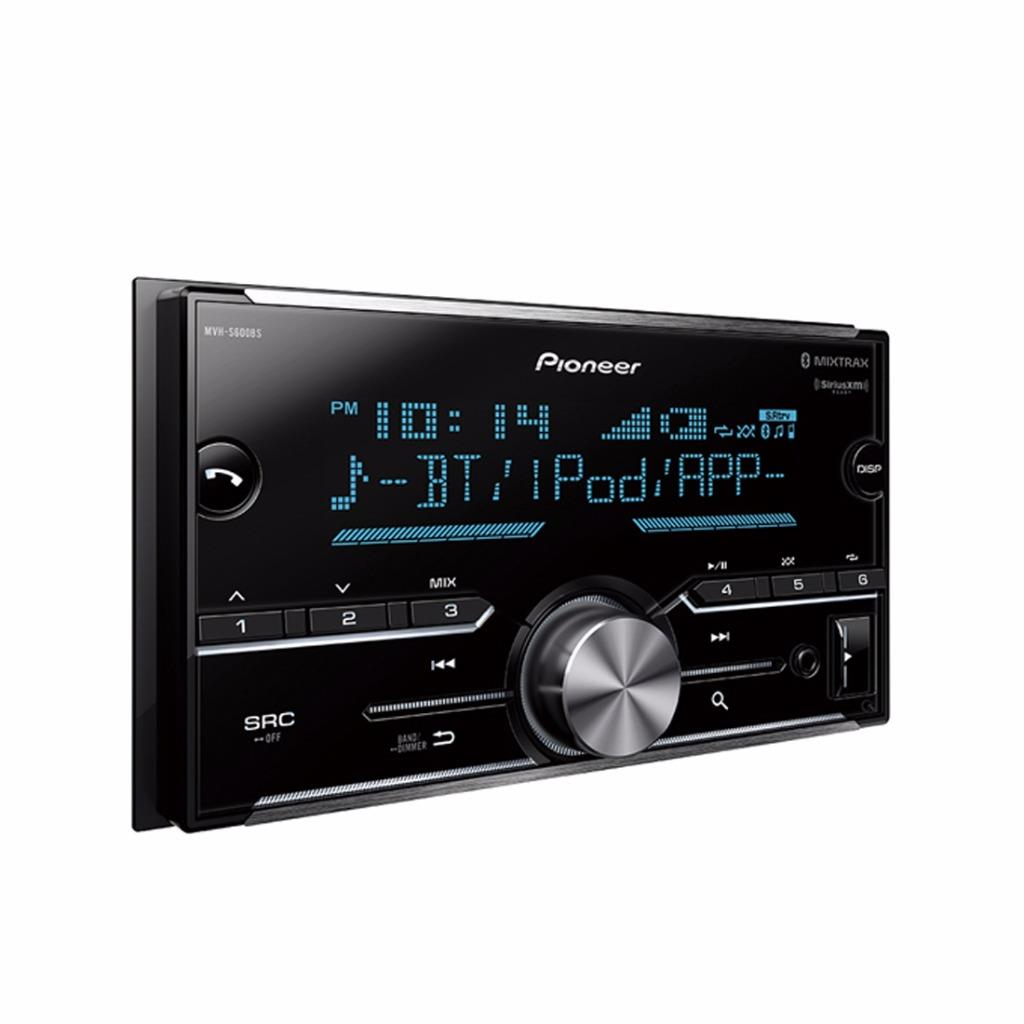 pioneer mvh s600bs 2 din car stereo in dash digital media. Black Bedroom Furniture Sets. Home Design Ideas