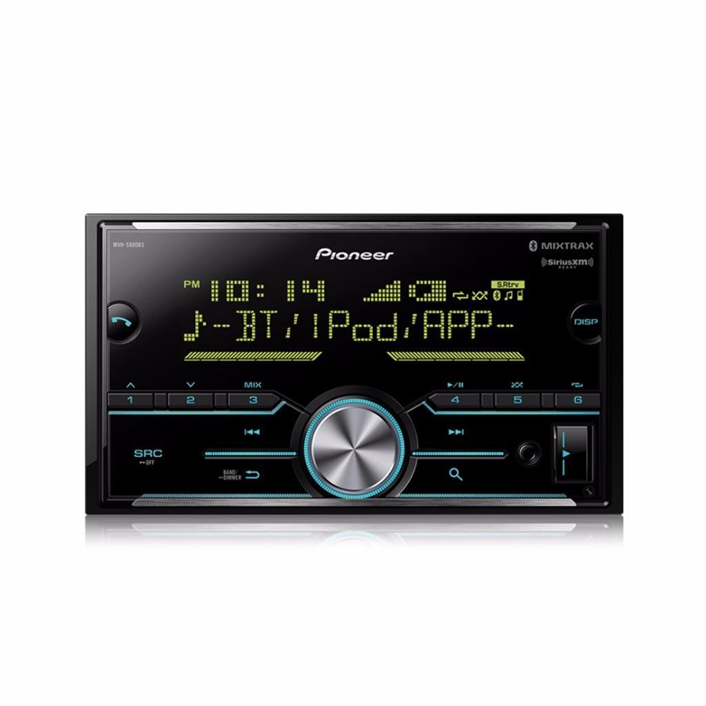 Pioneer MVH-S600BS 2-DIN Car Stereo In-dash Digital Media