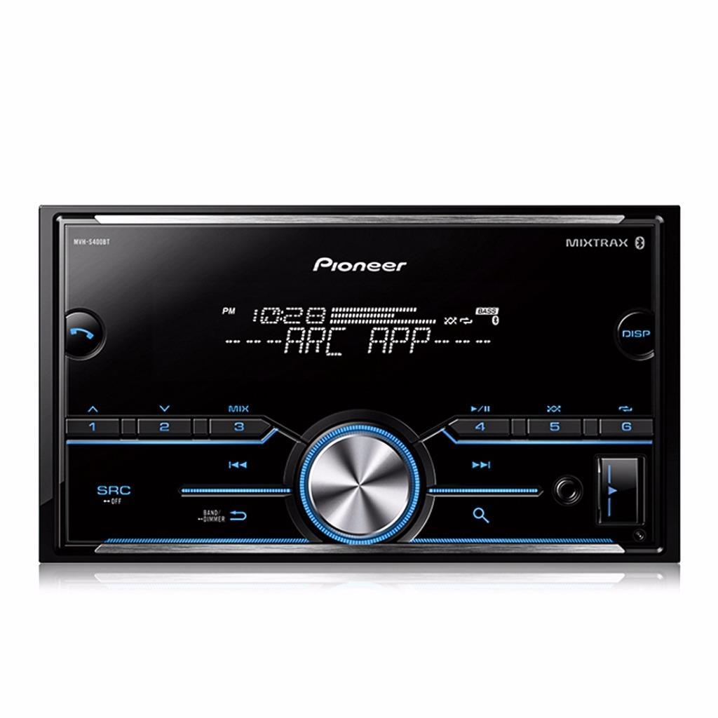 pioneer mvh s400bt 2 din car stereo in dash digital media. Black Bedroom Furniture Sets. Home Design Ideas