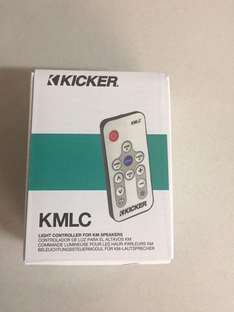Kicker Light Remote Control For Km Speakers 41Kmlc