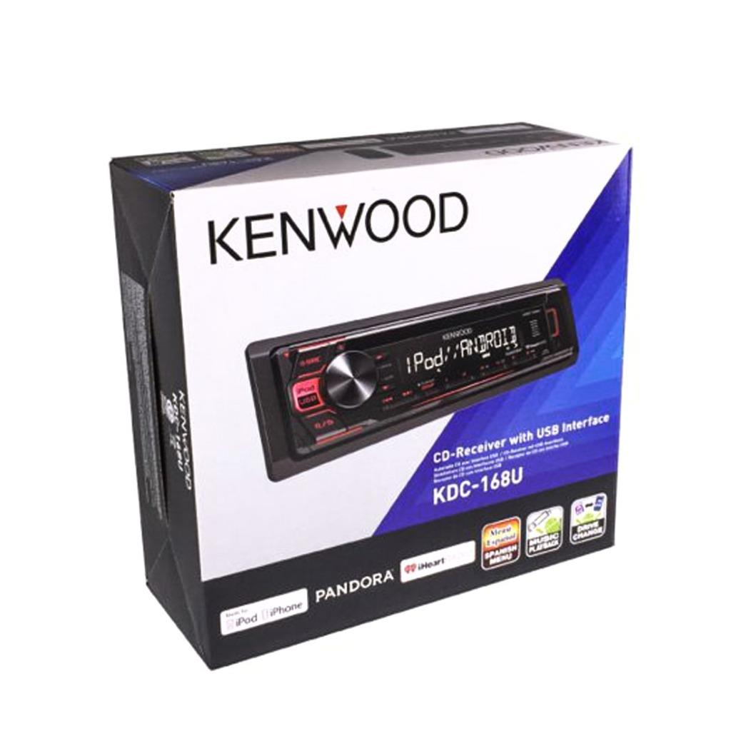Details about Kenwood KDC-168U 1-DIN Car Stereo In-Dash CD AM/FM MP3 USB  Multimedia Receiver
