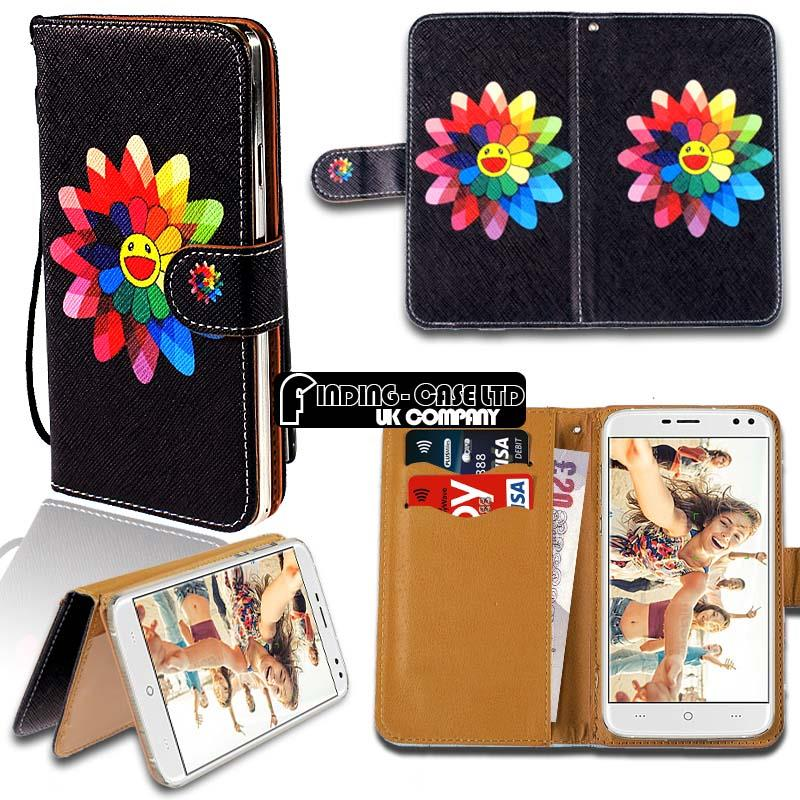 thumbnail 5 - For Various Doogee X Series Phones Leather Smart Stand Wallet Case Cover