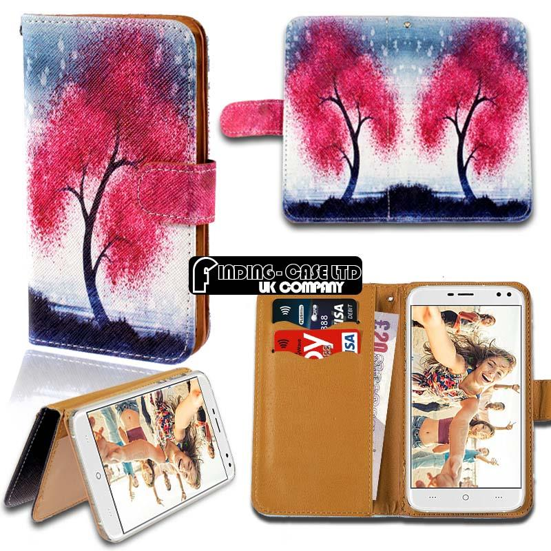 thumbnail 6 - For Various Doogee X Series Phones Leather Smart Stand Wallet Case Cover
