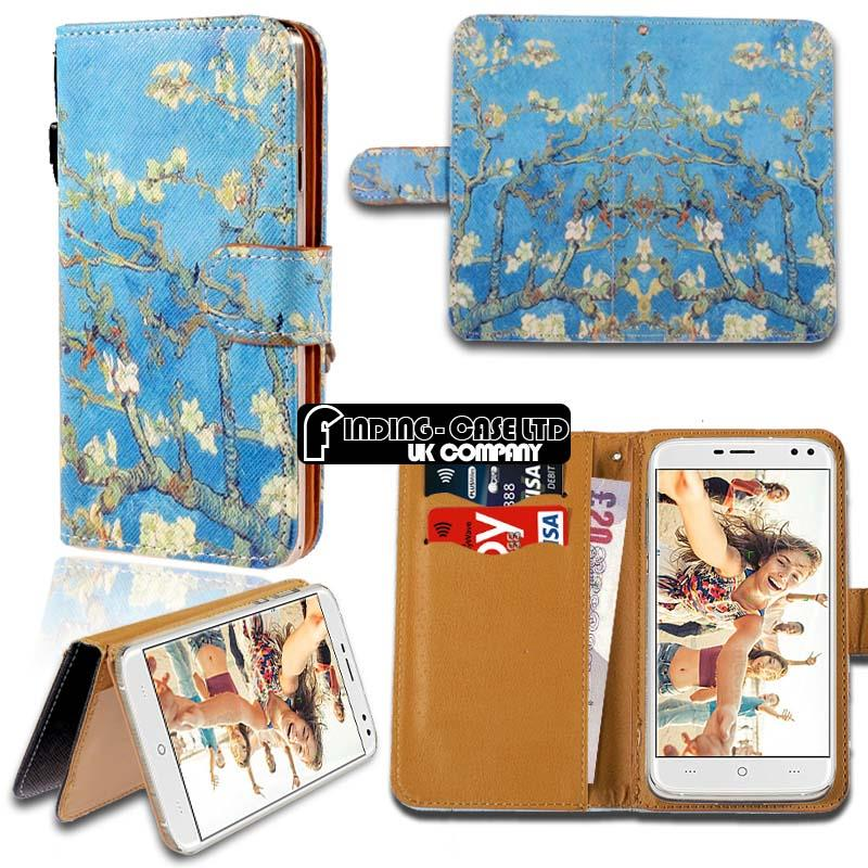 thumbnail 7 - For Various Doogee X Series Phones Leather Smart Stand Wallet Case Cover