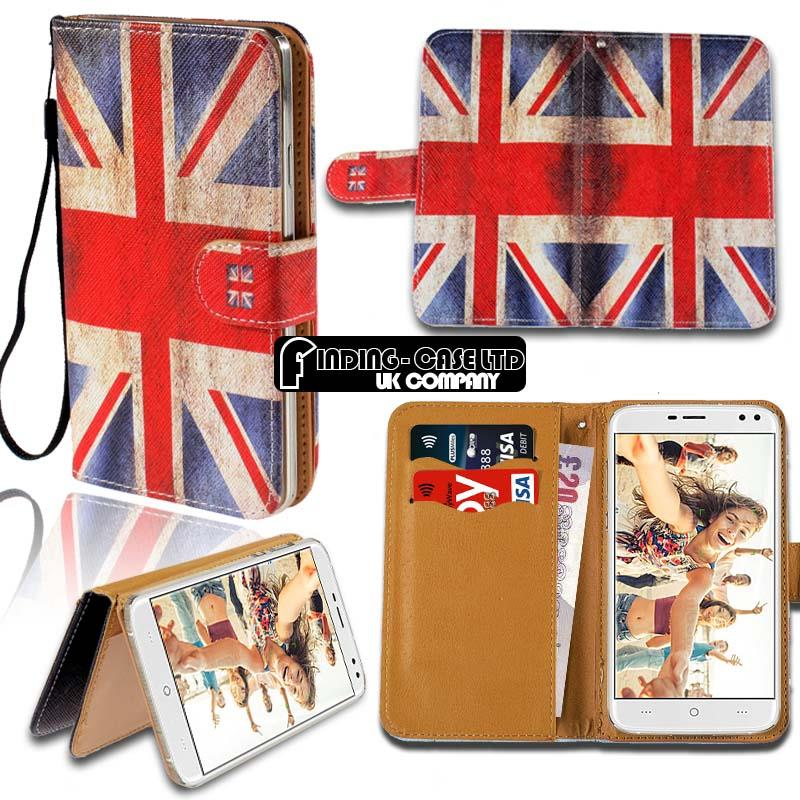 thumbnail 8 - For Various Doogee X Series Phones Leather Smart Stand Wallet Case Cover