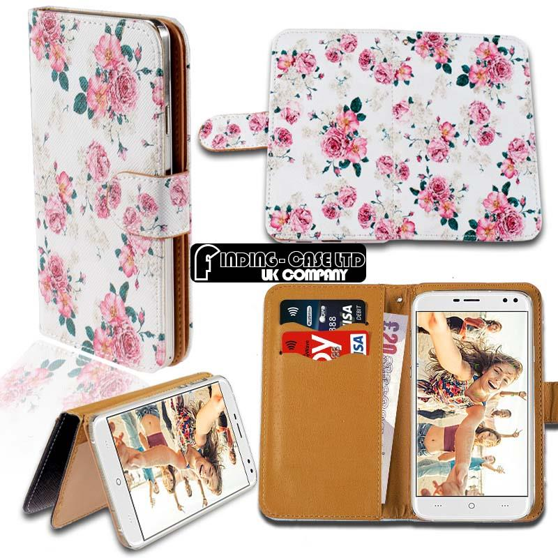 thumbnail 9 - For Various Doogee X Series Phones Leather Smart Stand Wallet Case Cover