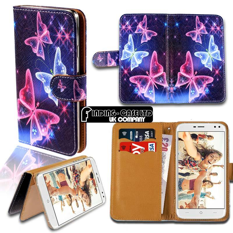 thumbnail 10 - For Various Doogee X Series Phones Leather Smart Stand Wallet Case Cover