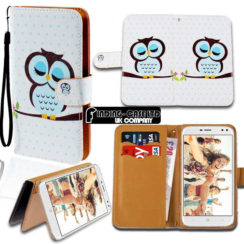 thumbnail 11 - For Various Doogee X Series Phones Leather Smart Stand Wallet Case Cover