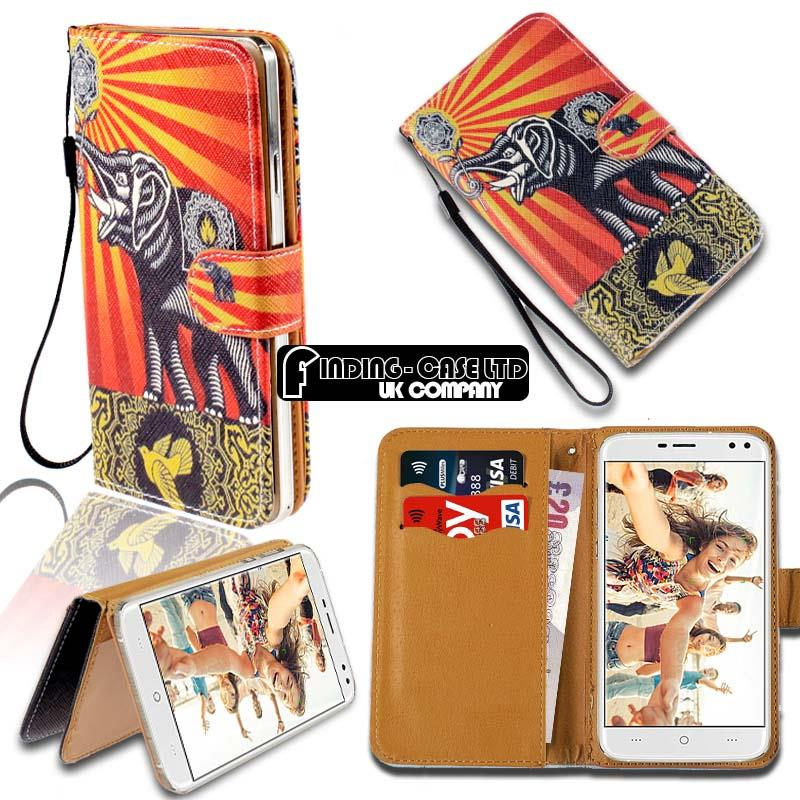 thumbnail 12 - For Various Doogee X Series Phones Leather Smart Stand Wallet Case Cover