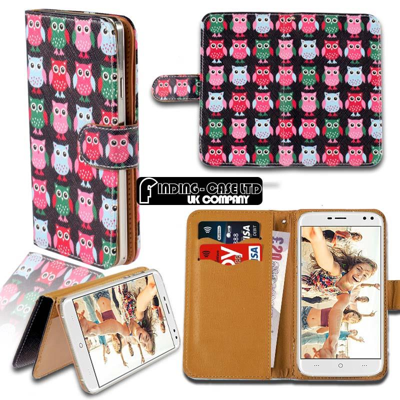 thumbnail 13 - For Various Doogee X Series Phones Leather Smart Stand Wallet Case Cover
