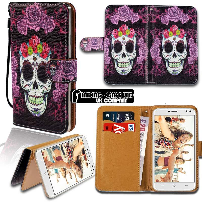 thumbnail 14 - For Various Doogee X Series Phones Leather Smart Stand Wallet Case Cover
