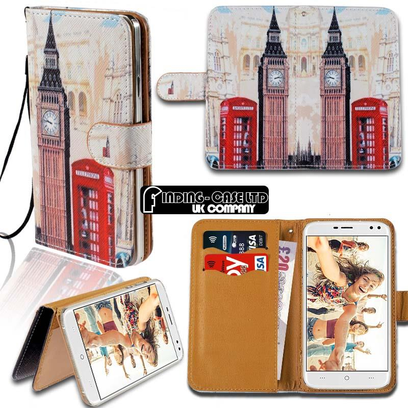 thumbnail 15 - For Various Doogee X Series Phones Leather Smart Stand Wallet Case Cover