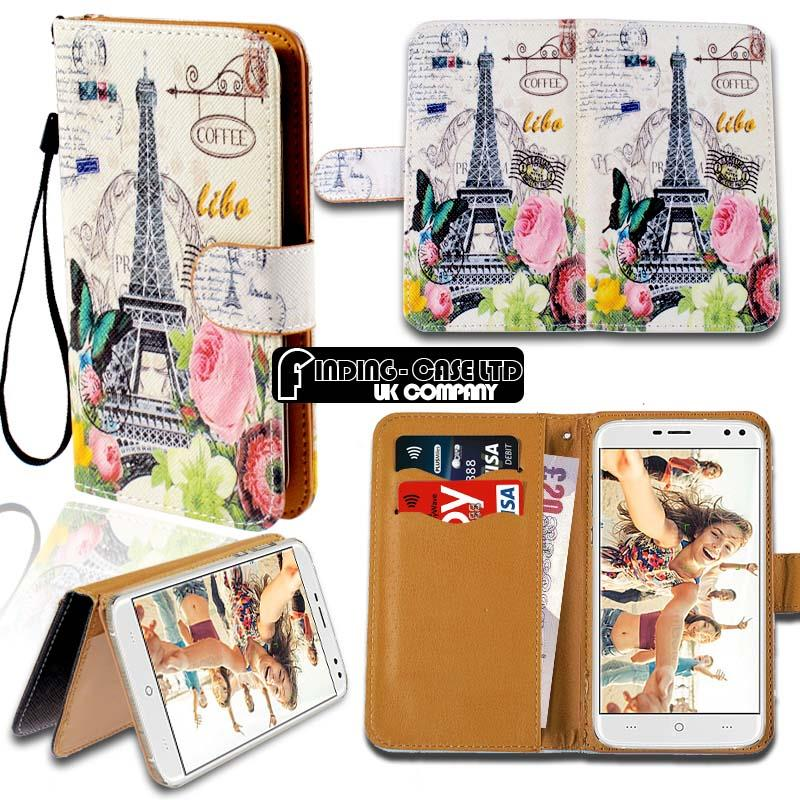 thumbnail 16 - For Various Doogee X Series Phones Leather Smart Stand Wallet Case Cover