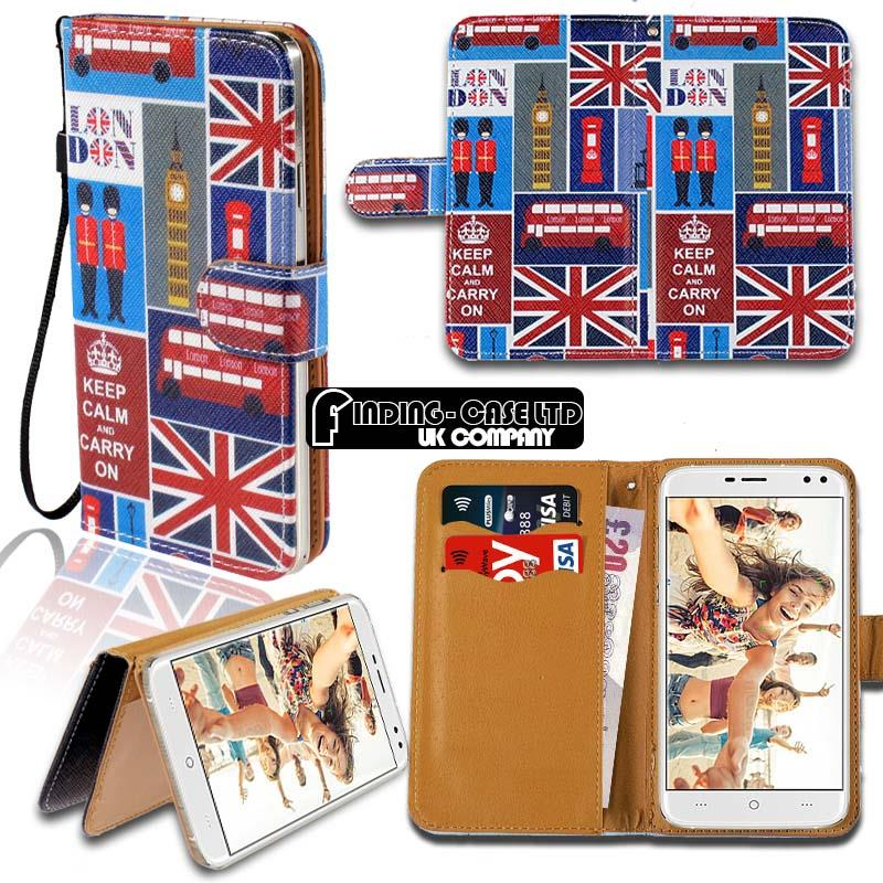thumbnail 17 - For Various Doogee X Series Phones Leather Smart Stand Wallet Case Cover