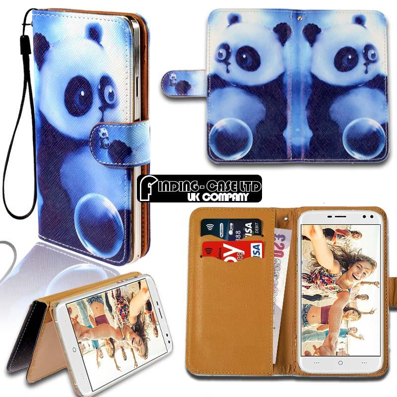 thumbnail 18 - For Various Doogee X Series Phones Leather Smart Stand Wallet Case Cover