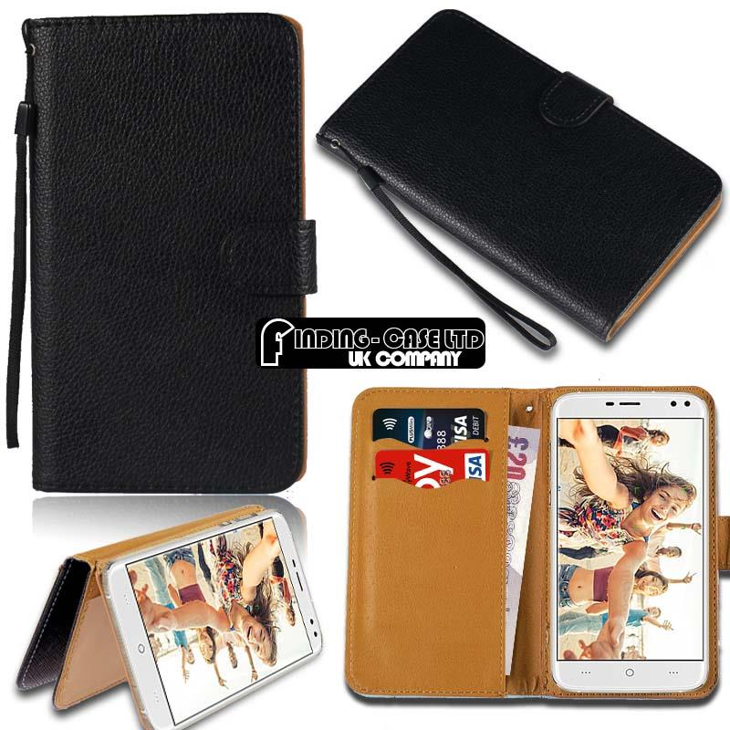 thumbnail 19 - For Various Doogee X Series Phones Leather Smart Stand Wallet Case Cover
