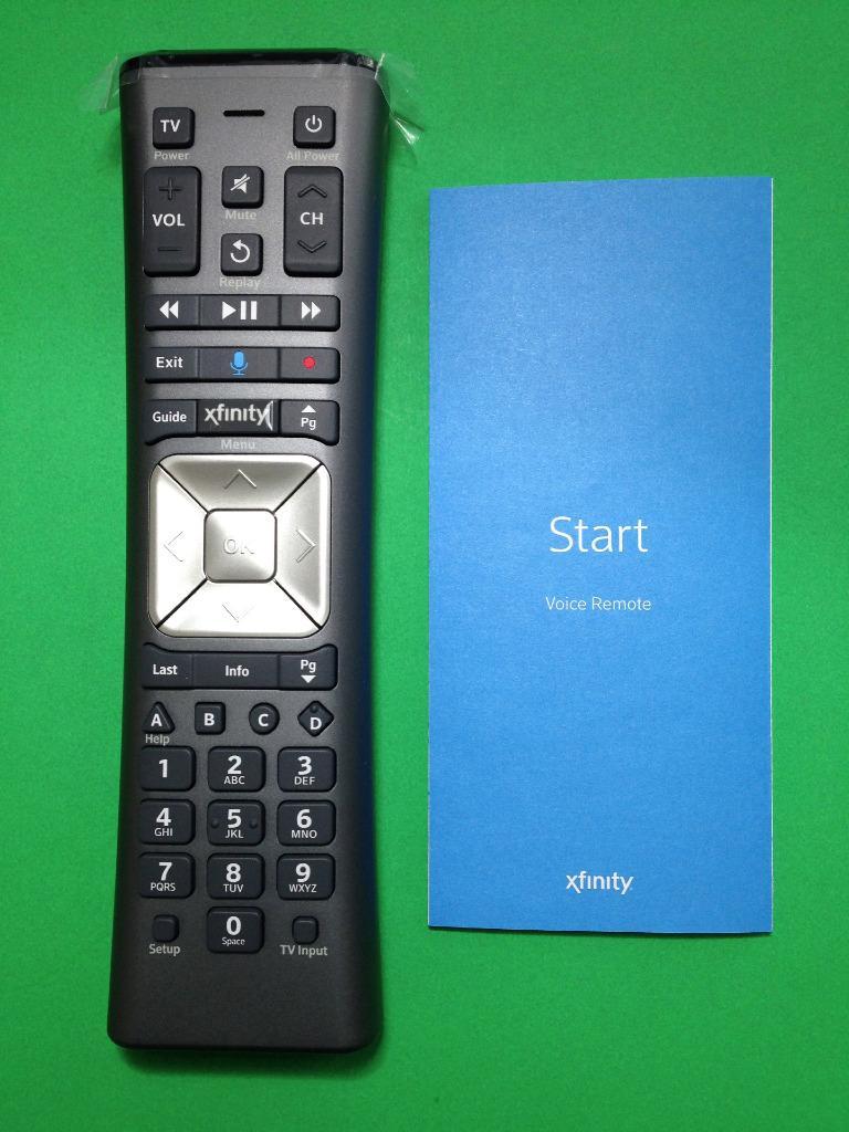 Comcast Remote Control User Manual