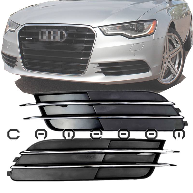 For Audi A6 C7 S6 S-Line 2012 Front Bumper Lower Side