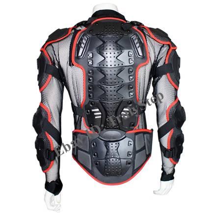 pare pierre rouge gilet veste moto protection enduro racing s m l xl xxl xxxl. Black Bedroom Furniture Sets. Home Design Ideas