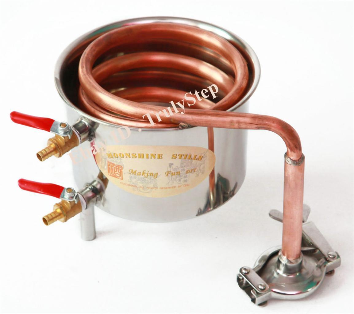 828397706_o 10 L Alambique Destilador Cobre Enfriador Termometro Vino Agua Esencial Aceite