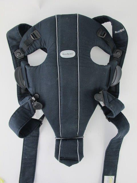 0a23ea9ff75 Baby Bjorn Synergy Baby Carrier Black 3D Mesh 8-25lbs Lumbar Support Infant  1 of 12FREE Shipping ...