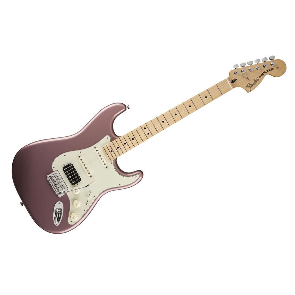 fender deluxe lone star stratocaster maple neck burgundy mist metal brand new ebay. Black Bedroom Furniture Sets. Home Design Ideas