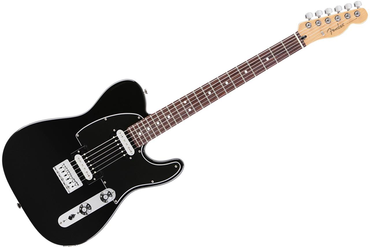 fender standard telecaster hh black guitar brand new auth dlr ebay. Black Bedroom Furniture Sets. Home Design Ideas