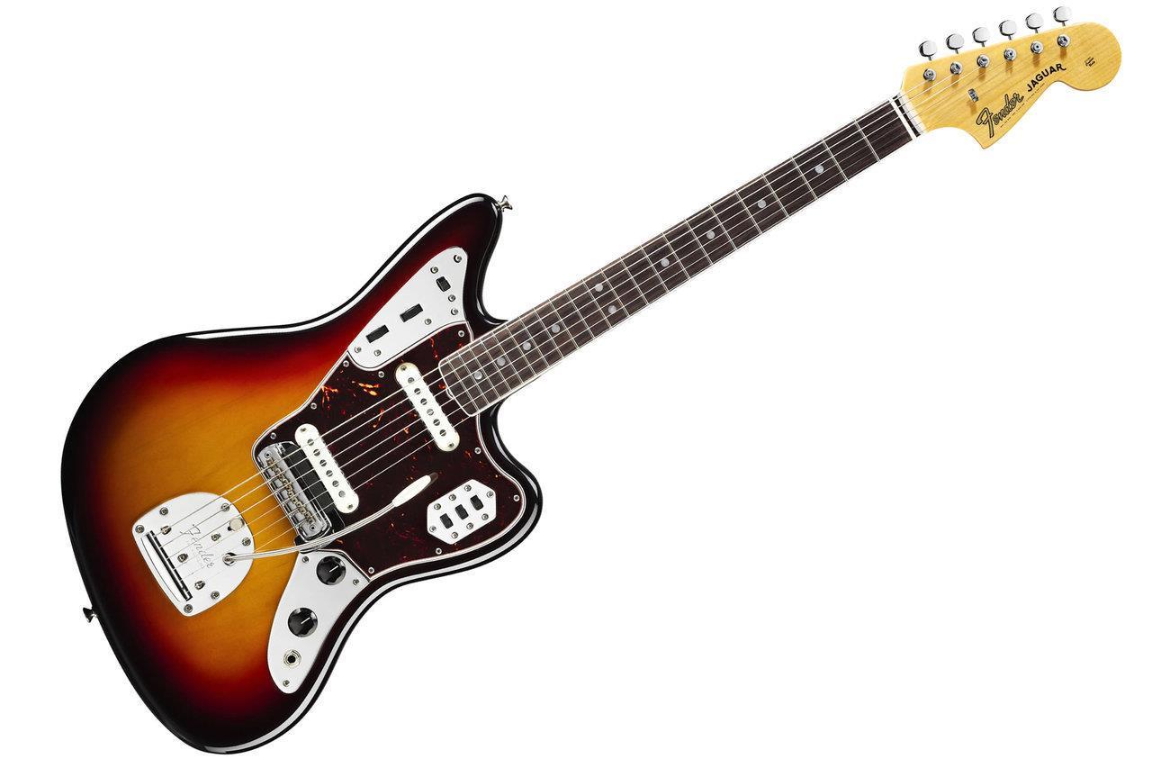fender american vintage 39 65 jaguar rosewood sunburst electric guitar ebay. Black Bedroom Furniture Sets. Home Design Ideas