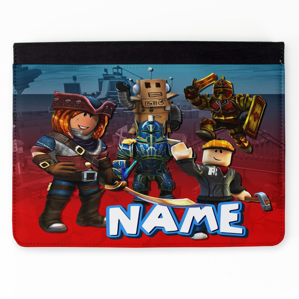 Details about Personalised ROBLOX iPad Case Cover Flip iPad 2 3 4 Air Mini  Pro RB02