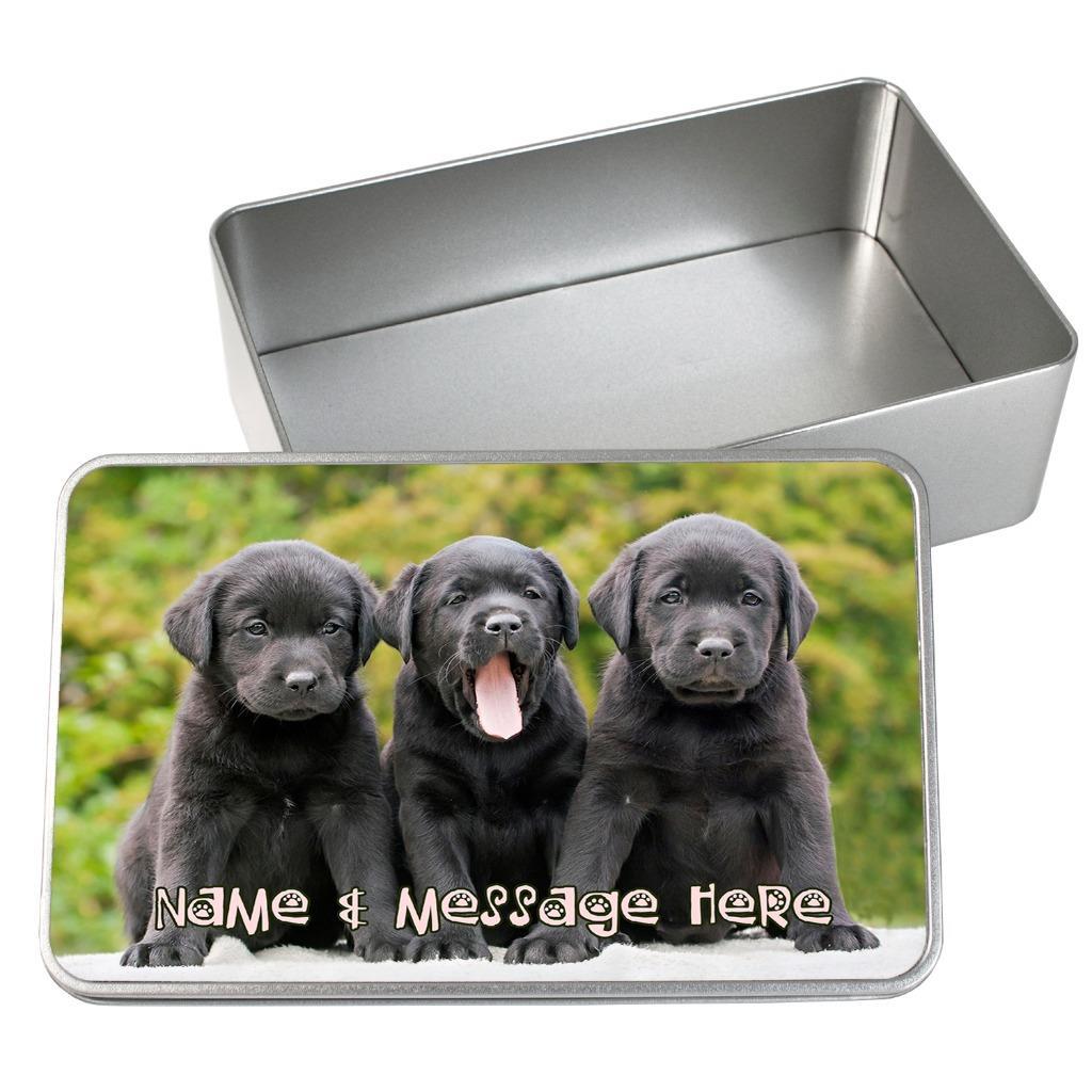 Retriever Labrador Business Card Tin Holder Gundog Gift