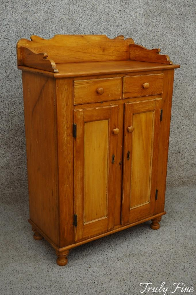 Early 1800's Antique Lancaster Co. Jelly Cabinet Storage Preserve Cupboard - Early 1800's Antique Lancaster Co. Jelly Cabinet Storage Preserve