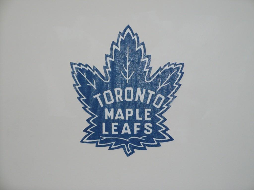 Toronto Maple Leafs Wallpaper Mural Nhl Hockey Decor Ebay